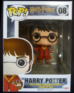 Harry Potter - Pop! - Harry Quidditch (exclu)