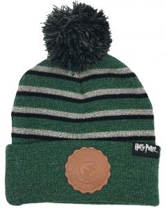 Harry Potter - Bonnet rayé pompon Slytherin