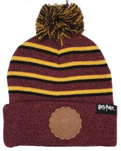 Harry Potter - Bonnet rayé pompon Gryffindor