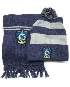 Harry Potter - Set bonnet et écharpe Ravenclaw