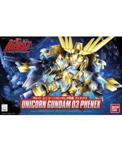 Gundam - SD BB394 Unicorn Gundam 03 Phenex