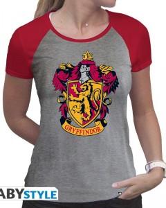 Harry Potter - T-shirt premium Gryffindor - Femme