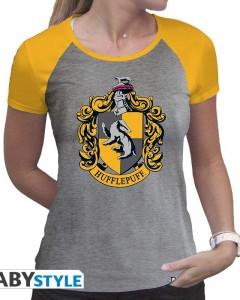 Harry Potter - T-shirt premium Hufflepuff - Femme