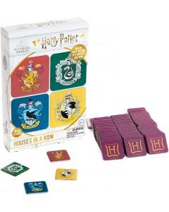 Harry Potter - Jeu de société Houses in a Row (anglais)
