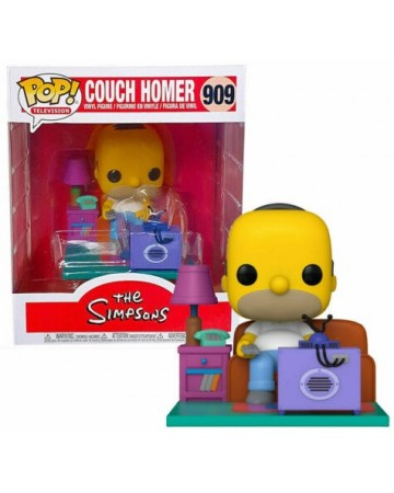 The Simpsons - Pop! - Couch Homer Simpson n°909