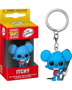 The Simpsons - Pop! Pocket - Porte-clé Itchy