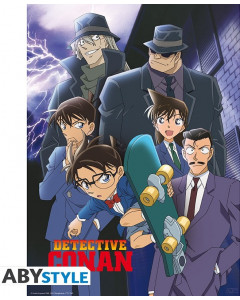 Detective Conan - Poster Groupe 52 x 38 cm
