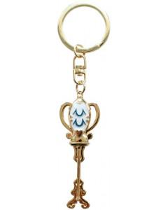 Fairy Tail - porte-clé métal Clé du Verseau
