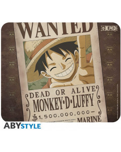One Piece - Tapis de souris Luffy Wanted