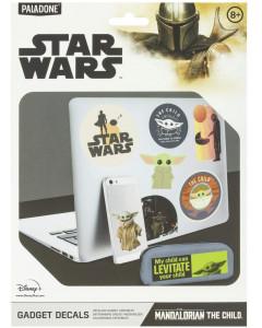 Star Wars : The Mandalorian - Set de gadget decals (stickers) The Child