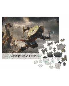 Assassin's Creed : Valhalla - Puzzle Fortress Assault (1000 pièces)