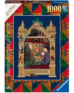 Harry Potter - Puzzle 1000 pièces On The Way To Hogwarts