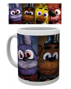 Five Nights at Freddy's - Mug Faces