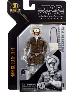 Star Wars - Black Series Archive - 6 inch - Figurine Hoth Han Solo