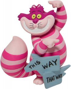 Disney - Showcase - Figurine Cheshire Cat This Way 9 cm