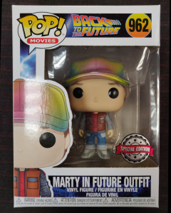 Retour vers le Futur - Pop! - Marty McFly in Future Outfit n°962