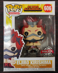 My Hero Academia - Pop! - Eijiro Kirishima Metallic n°606 exclusive