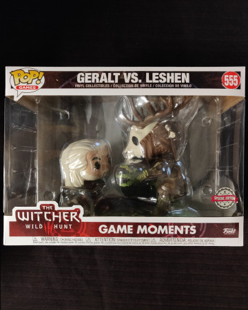 The Witcher - Pop! Game Moments - Geralt vs Leshen n°555
