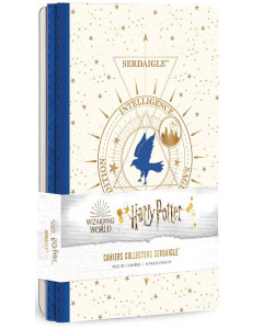 Harry Potter - Constellations - Pack de 3 cahiers Serdaigle