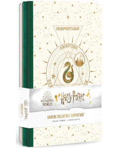Harry Potter - Constellations - Pack de 3 cahiers Serpentad (Slytherin)