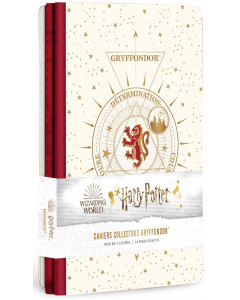 Harry Potter - Constellations - Pack de 3 cahiers Gryffondor (Gryffindor)
