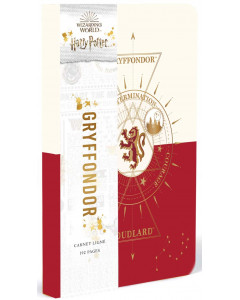 Harry Potter - Constellations - Carnet Gryffondor (Gryffindor)