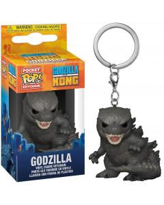 Godzilla vs Kong - Pop! Pocket - Porte-clé Godzilla
