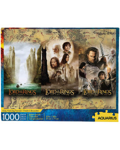 Lord of the Rings - Puzzle Triptyque (1000 pièces)