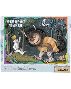 Where The Wild Things Are - Puzzle Max & les Maximonstres (500 pièces)