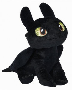 How to train your Dragon - Dragons - Peluche Toothless Krokmou 25 cm