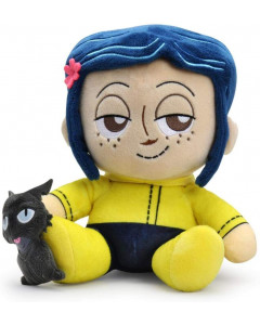 Coraline - Peluche phunny Coraline with Cat 18 cm