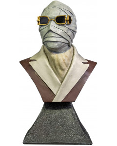 Universal Monsters - Buste Invisible Man 15 cm