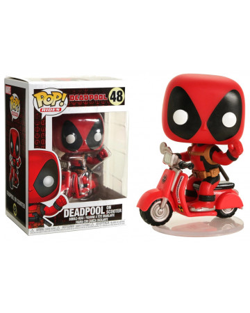 Deadpool - Pop! - Playtime : Deadpool and scooter