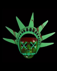 The Purge : Election Year - Masque plastique Lady Liberty version Light Up