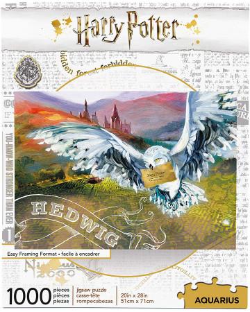 Harry Potter - Puzzle Hedwige (1000 pièces)