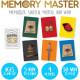 Harry Potter - Jeu Memory Master (en anglais)