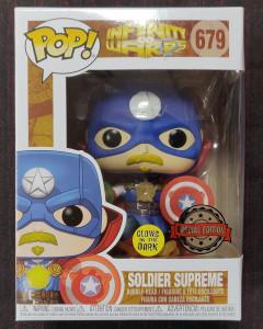 Marvel - Pop! - Soldier Supreme n°679 exclusive