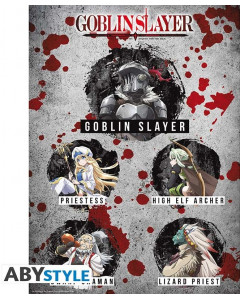 Goblin Slayer - Poster Personnages 52 x 38 cm