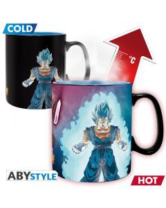 Dragon Ball - Mug thermo-réactif Vegeto & Trunks