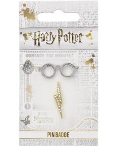 Harry Potter - Set de pins Scar & Glasses