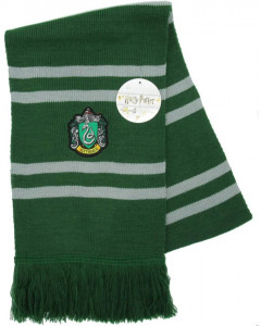 Harry Potter - écharpe déguisement Slytherin