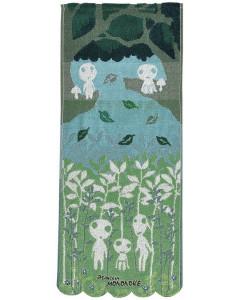 Mononoke Hime - Serviette Kodama 34 x 80 cm