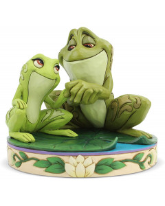 """Disney - Traditions - Tiana and Naveen as Frogs """"Amorous Amphibians"""""""