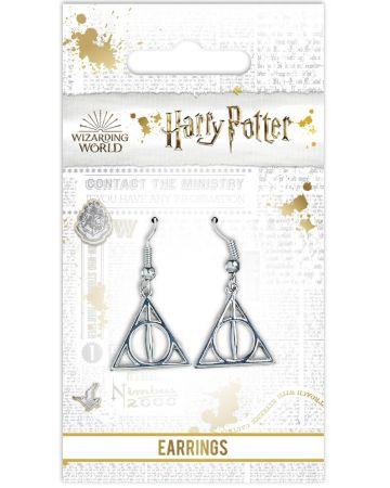Harry Potter - Boucles d'oreilles Deathly Hallows