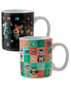 Animal Crossing - Mug thermo-réactif Personnages