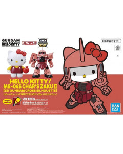 Gundam - SD Cross Silhouette Hello Kitty MS-06S Char's Zaku II