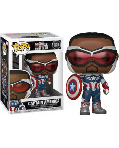 Marvel Studios : The Falcon and The Winter Soldier - Pop! - Captain America n°814