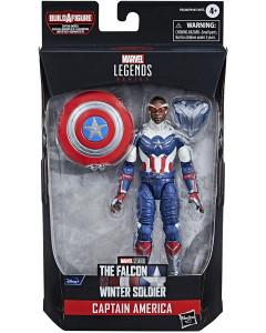 Marvel Legends - Captain America Flight Gear Series - Figurine Captain America (FATWS)