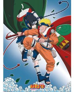 Naruto - Poster Naruto vs Sasuke 52 x 38 cm