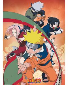 Naruto - Poster Equipe 7 52 x 38 cm